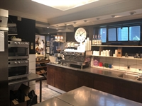 sandwich bar with coffee - 3