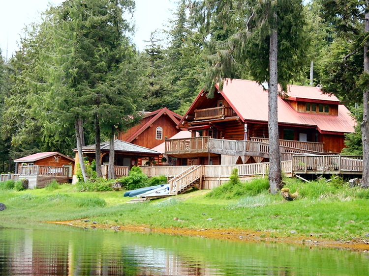 buy a wilderness fishing lodge in southeast alaska
