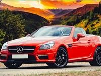 luxury auto dealership with - 1