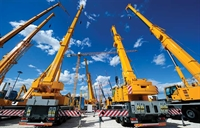 cranes heavy equipment beaver - 1