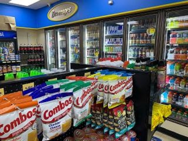gas station with convenience - 5