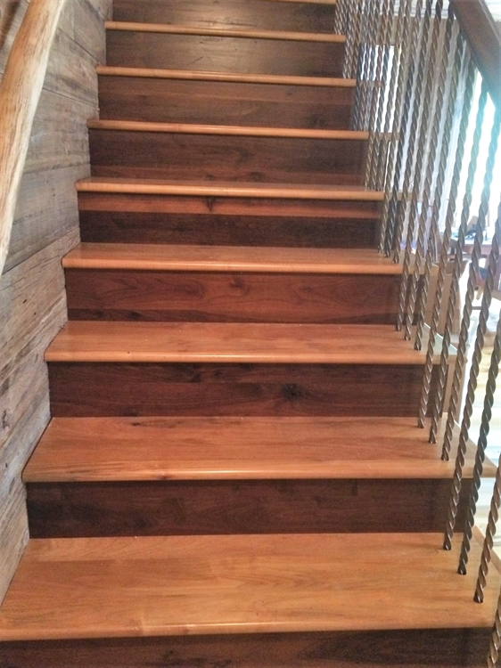 established custom hardwood flooring - 7