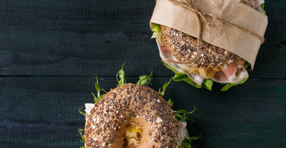 Bagel with fillings